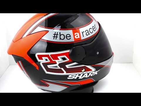 Shark D-SKWAL Sam Lowes Motorcycle Helmet