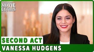 "SECOND ACT | On-set Interview with Vanessa Hudgens ""Zoe"""