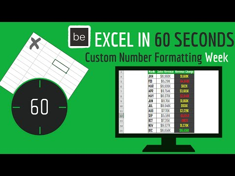 How to Create a Conditional Custom Number Format in Excel