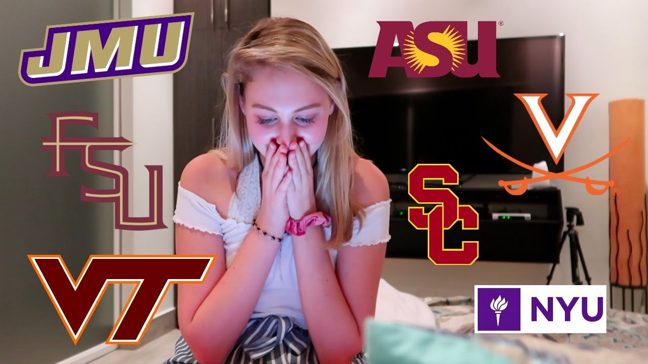 REALISTIC College Decision Reaction 2019!! My College Application Process (my SAT, GPA & AP stats)