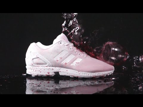 How to clean adidas Triple White ZX Flux vs RED WINE!! - Crep Protect Cure - EXTREME TEST 3