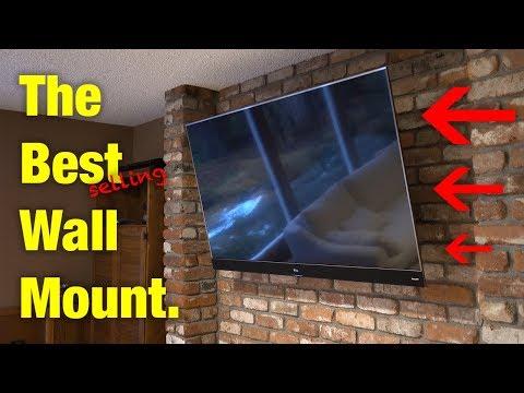 BEST TV WALL MOUNT! (2018)
