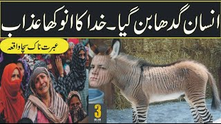 insan gadha Ban Gia/Human transformed into a Donkey in urdu hindi-tbldocumentary