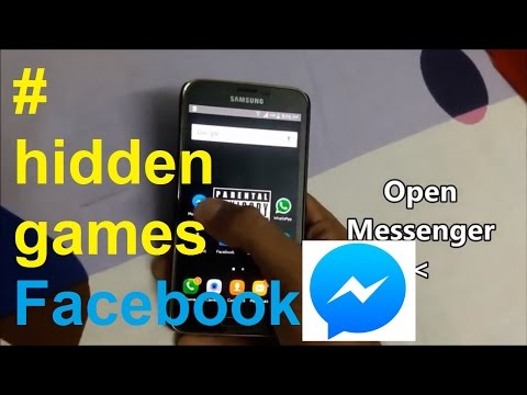 Facebook Messenger's all Hidden Games!