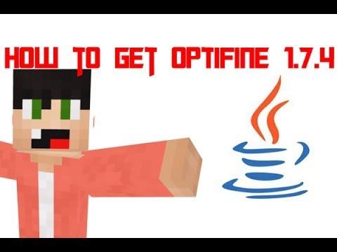 Minecraft How to add a mod to minecraft 1.7.4 (optifine 1.7.4)