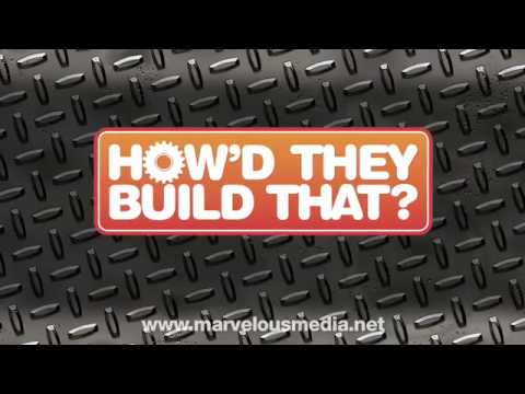How'd They Build That? CONCRETE TRUCK DVD