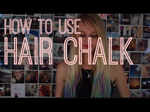 How to use Hair Chalk.