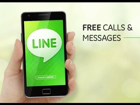 LINE App for Android Phones - ( How to Download , Install , Configure, Call and Chat with LINE ).