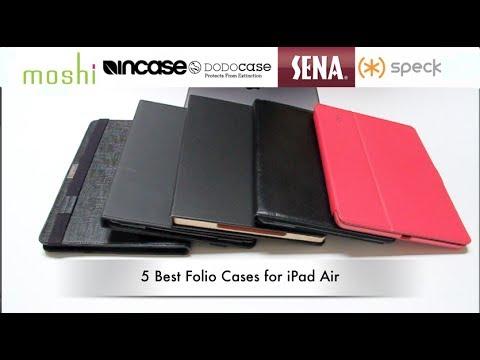 Top 5 Best iPad Air Folio Cases - Moshi,Incase,DODOcase,Sena,Speck