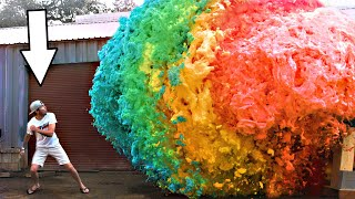 World's Largest Devil's Toothpaste Explosion