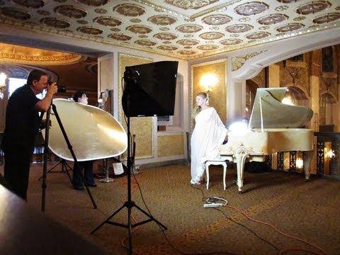 Illumination Photo Shoot (Jennifer Thomas) - Behind the Scenes