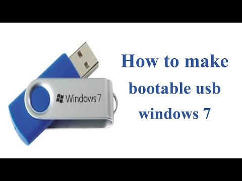 How To Make Bootable USB Pen Drive For Windows Xp Windows 7 And Windows 8