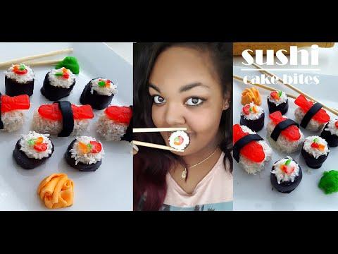 Sushi Cake Bites | Marisha's Couture Cakes