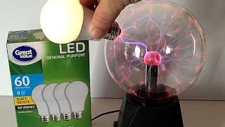 Download EXPERIMENT Plasma Ball Awesome SCIENCE TRICKS Video