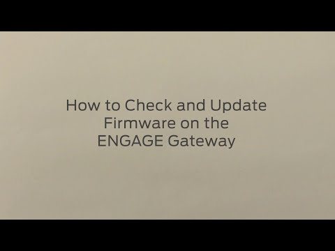 NDE Series on Android: How to Check and Update Gateway Firmware