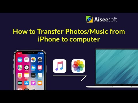 How to transfer photos/music from iPhone/iPad/iPod to computer