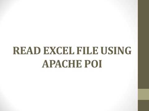 How to read and write data from excel in selenium webdriver 01