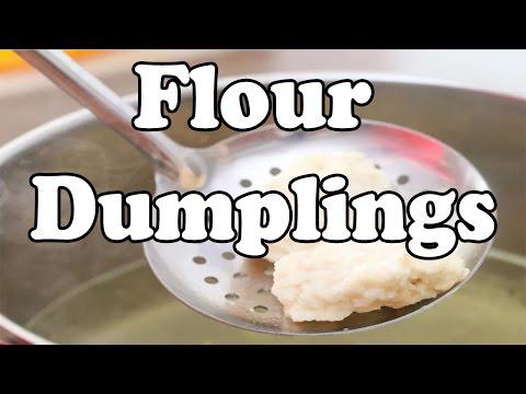 How to Make Flour Dumplings | Dumplings Recipe Video