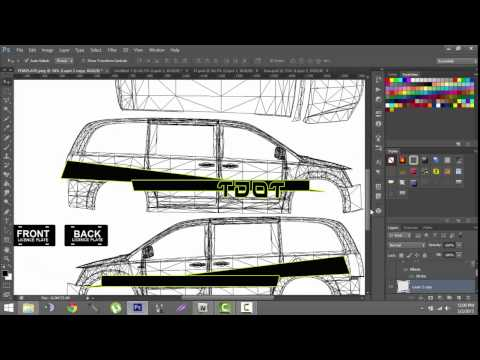 GTA IV Tutorial: How to a make a livery, texture, or skin for a car | PSD Tutorial