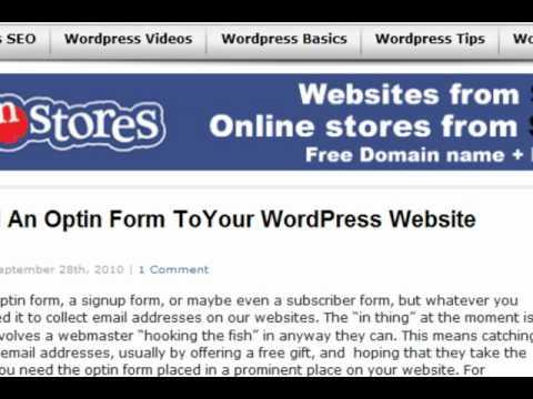 Add an image to the sidebar widget in a Wordpress website