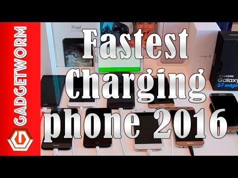 Fastest Charging Phone 2016: Pixel vs iphone 7 vs s7 edge vs one plus 3 vs idol 4s vs honor 8