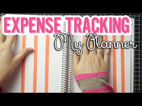 DIY Expenses Tracking Page + How I Curb Impulse Spending/Shopping | My Planner Series