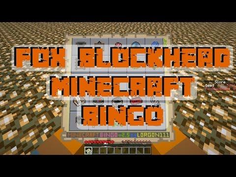 Minecraft BINGO by Fox Blockhead - week of July 31st - seed: 5555
