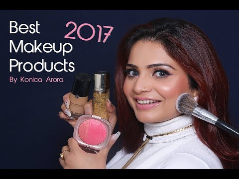 Best Makeup Products of 2017 | Makeup Products for FACE | Konica Arora | Krushhh by Konica
