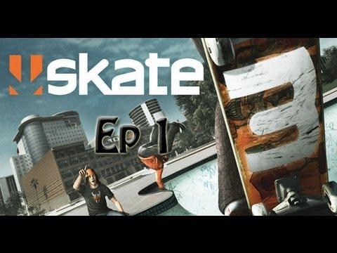 Skate 3- Career (Episode 1) Create the legend