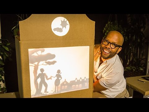 How To - Kenneth Wingard's DIY Shadow Puppet Theater - Home & Family