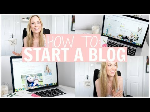 HOW TO START A BLOG FOR BEGINNERS | Alex Gladwin
