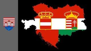 Austria Hungary Flag Map