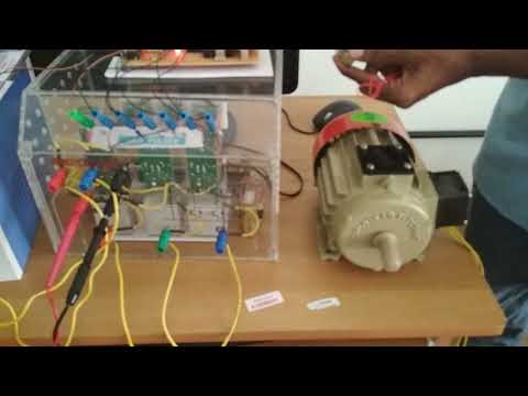 Induction motor speed control using TMS320F28027