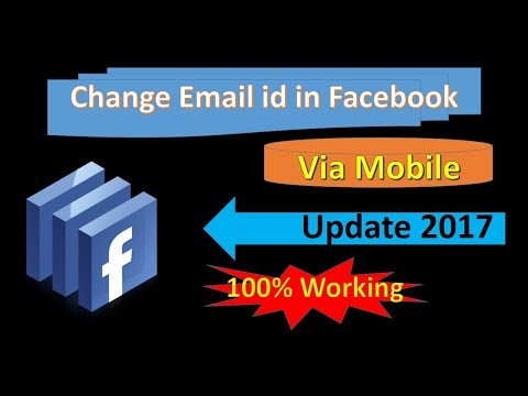 How to change Facebook Email Id in Mobile in Hindi - My Tech Mantras