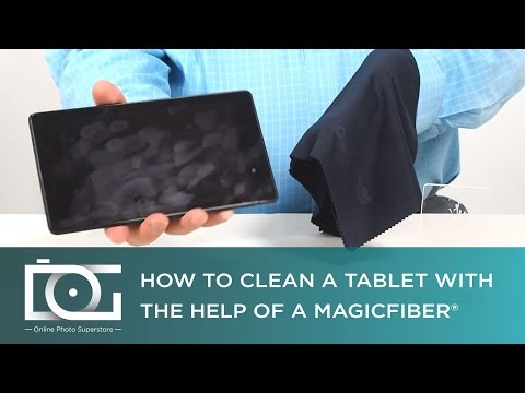 How to Clean a Tablet Screen The Right Way | MagicFiber® Microfiber Cleaning Cloth | TUTORIAL
