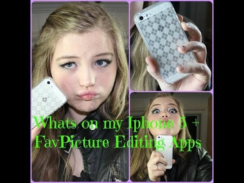 Whats On My Iphone 5 + Apps I Edit With