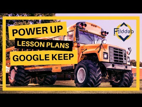 How Google Keep can help you plan and organize your lessons
