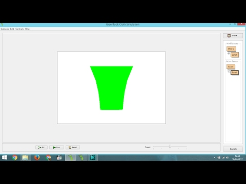 How to Make Simple 2D Cloth Simulation in Greenfoot