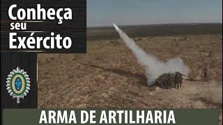 Conheça Seu Exército - Arma De Artilharia