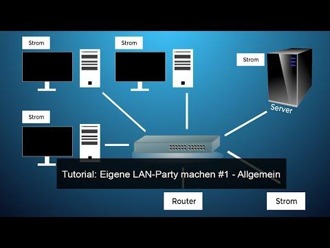 Tutorial: Eigene LAN-Party machen #1 - Allgemein