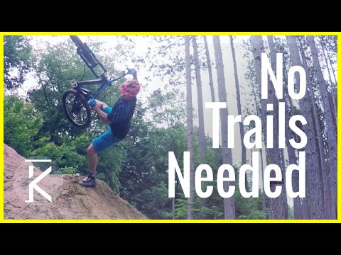 How to have fun without mountain bike trails | Street mountain biking  Skills with Phil
