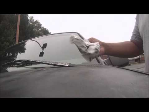 How to clean your wipers