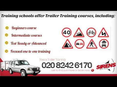 All About Towing a Trailer Training