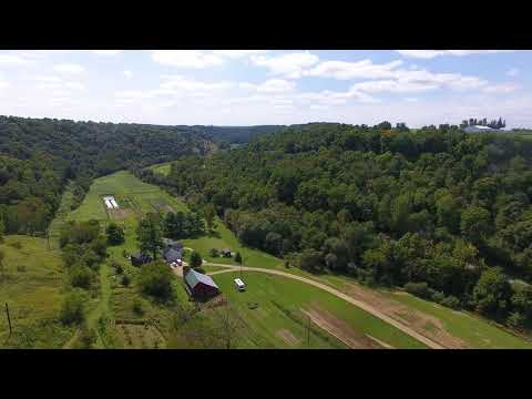 4BR 3BA home on 36.5 Acres for sale WI - organic veggie farm - video 2 of 3