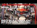 Red Bull Smash Pit Stop World Record 2019 Brazilian Grand Prix