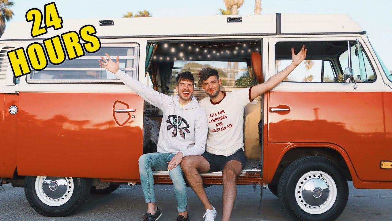 We Tried Living In A Van For 24 Hours