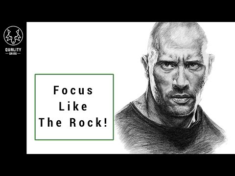 How To Focus Like The Rock - Get More Energy Naturally