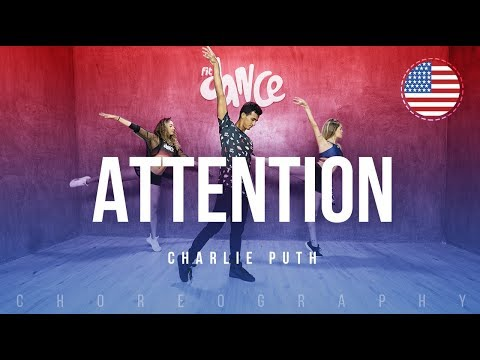 Attention - Charlie Puth | FitDance Life (Coreografía) Dance Video