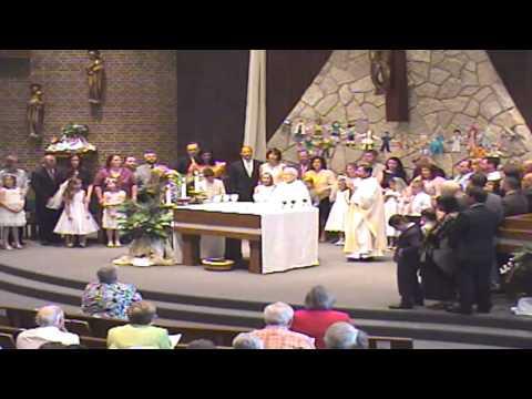 April 25th Mass/First Communion