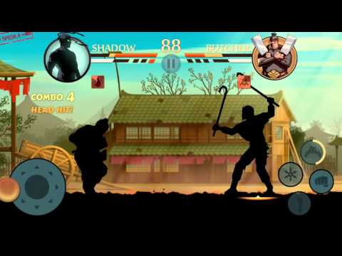 shadow fight 2 vs butcher - HD